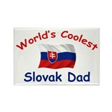 Coolest Slovak Dad Rectangle Magnet