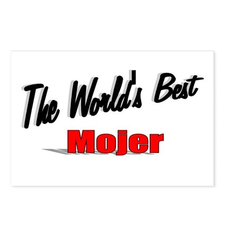 """The World's Best Mojer"" Postcards (Package of 8)"
