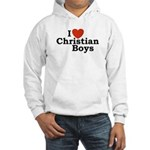 I loves Christian Boys Hooded Sweatshirt