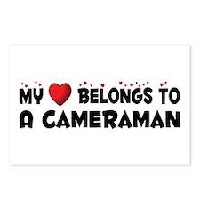 Belongs To A Cameraman Postcards (Package of 8)