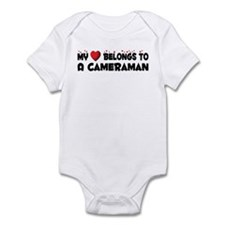 Belongs To A Cameraman Infant Bodysuit