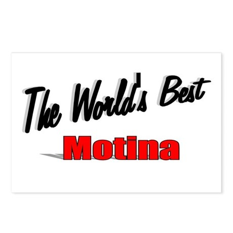 """The World's Best Motina"" Postcards (Package of 8)"