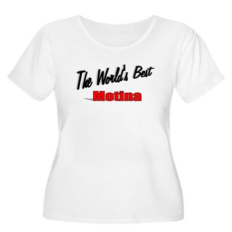 """The World's Best Motina"" Women's Plus Size Scoop"