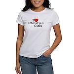I love Christian Girls Women's T-Shirt