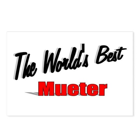 """The World's Best Mueter"" Postcards (Package of 8)"