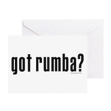 got rumba? Greeting Cards (Pk of 20)