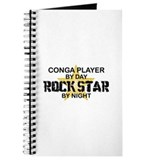 Conga Player Rock Star Journal