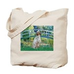 Bridge / English Setter Tote Bag