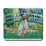 Bridge / English Setter Mousepad
