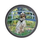 Bridge / English Setter Wall Clock