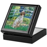 Bridge / English Setter Keepsake Box