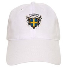 Number One Swedish Grandma Baseball Cap