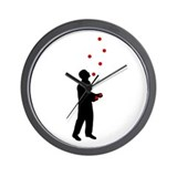 Unique Juggling Wall Clock