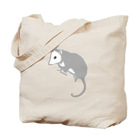 Possum Silhouette Tote Bag
