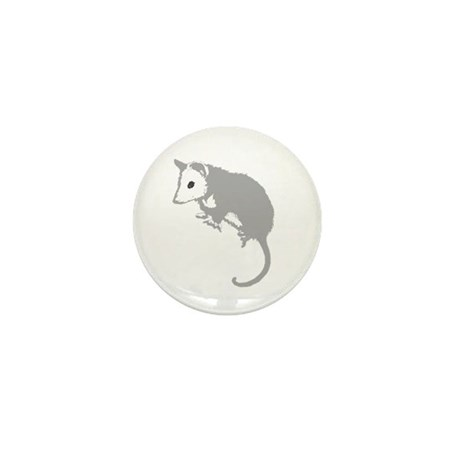 Possum Silhouette Mini Button (100 pack)