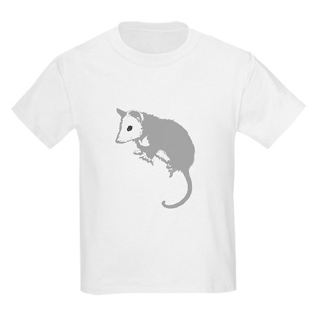 Possum Silhouette Kids Light T-Shirt