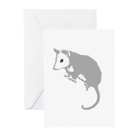 Possum Silhouette Greeting Cards (Pk of 10)