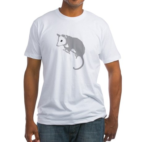 Possum Silhouette Fitted T-Shirt