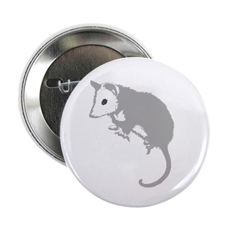 "Possum Silhouette 2.25"" Button"