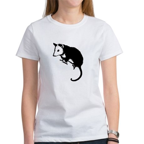 Possum Silhouette Women's T-Shirt