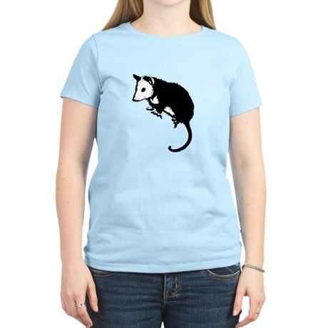 Possum Silhouette Women's Light T-Shirt