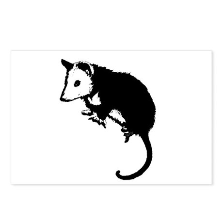 Possum Silhouette Postcards (Package of 8)