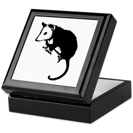 Possum Silhouette Keepsake Box