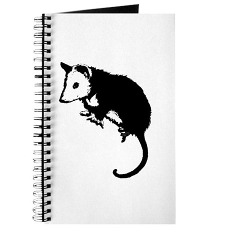 Possum Silhouette Journal