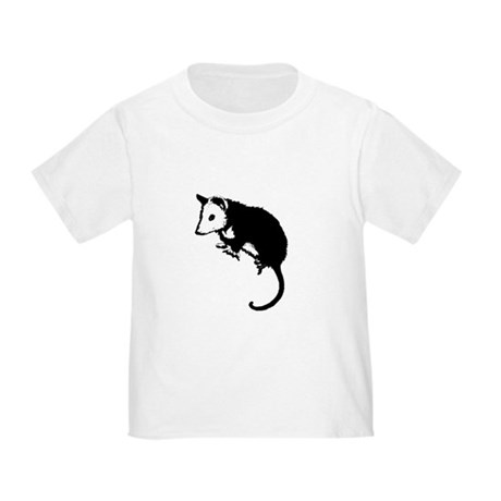 Possum Silhouette Toddler T-Shirt
