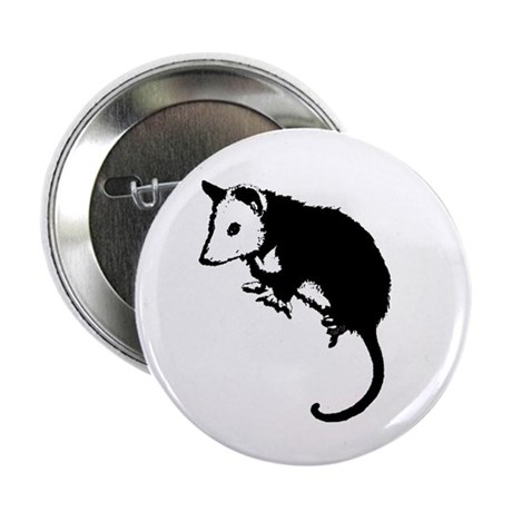 "Possum Silhouette 2.25"" Button (100 pack)"