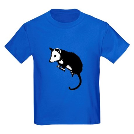 Possum Silhouette Kids Dark T-Shirt