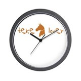 Akhal-Teke Lover Wall Clock