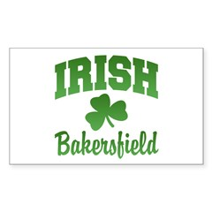 Bakersfield Irish Rectangle Sticker