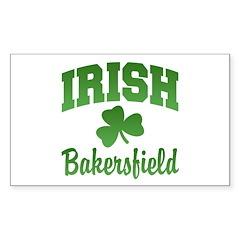 Bakersfield Irish Rectangle Sticker