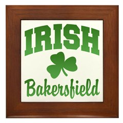 Bakersfield Irish Framed Tile