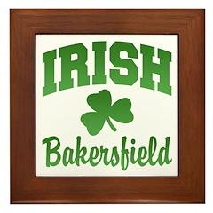 Bakersfield Irish Framed Tile