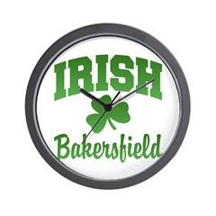 Bakersfield Irish Wall Clock