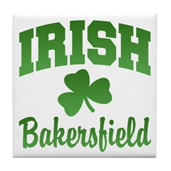 Bakersfield Irish Tile Coaster