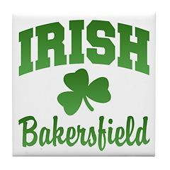 Bakersfield Irish Tile Coaster