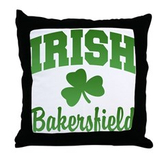 Bakersfield Irish Throw Pillow