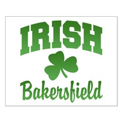 Bakersfield Irish Small Poster