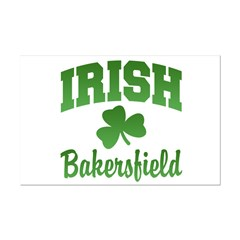 Bakersfield Irish Mini Poster Print