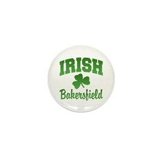 Bakersfield Irish Mini Button (10 pack)