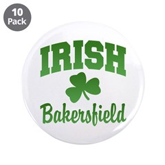 "Bakersfield Irish 3.5"" Button (10 pack)"