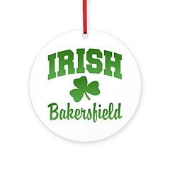 Bakersfield Irish Ornament (Round)