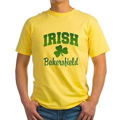 Bakersfield Irish Yellow T-Shirt
