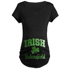 Bakersfield Irish Maternity Dark T-Shirt