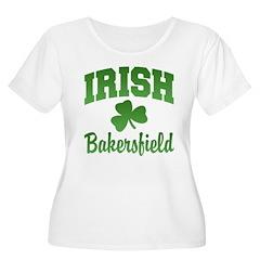 Bakersfield Irish Women's Plus Size Scoop Neck T-S