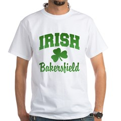 Bakersfield Irish White T-Shirt