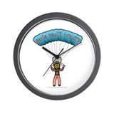 Dark Sky Diver Wall Clock